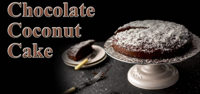 Chocolate cake with Coconut